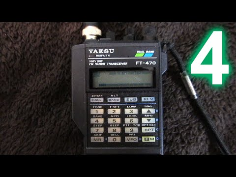 Yaesu FT-470 handheld amateur radio transceiver, Part 4: Features