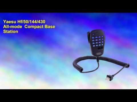 Yaesu Hf50144430 Allmode Compact Base Station and Ham