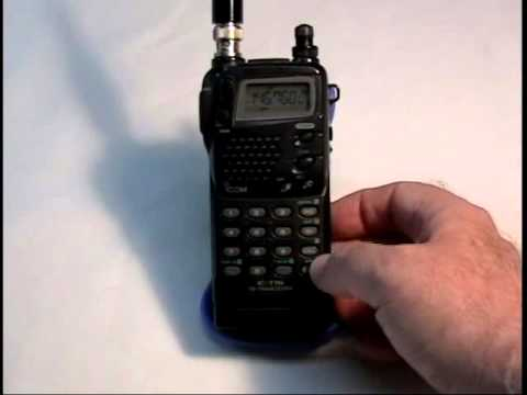 Icom IC-T7H Amateur Dual-Band Handheld