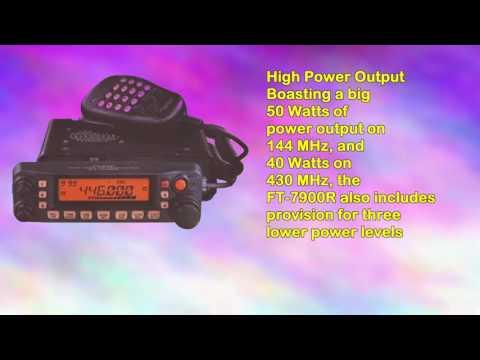 Yaesu Original Ft7900r Amateur Radio Dualband 144440 Mhz