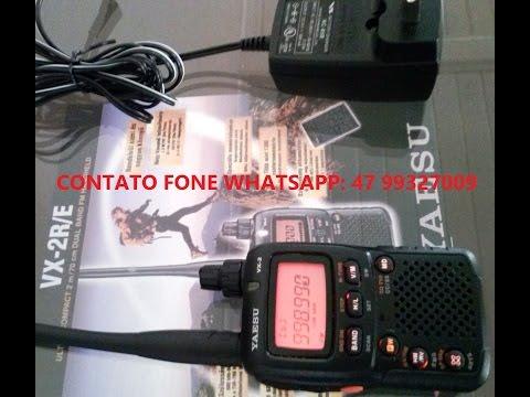 Yaesu Vx -2R Transceptor Radio Amador  Aviação Ht Dual Band