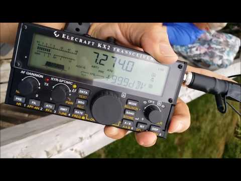Elecraft KX2 fits in your Hand