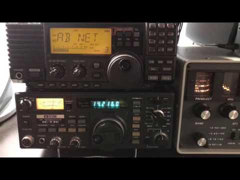 CQ DX Contest - KN5TX - N5IC - VA6CV - World Wide SSB contest Icom IC-730 HF transceiver