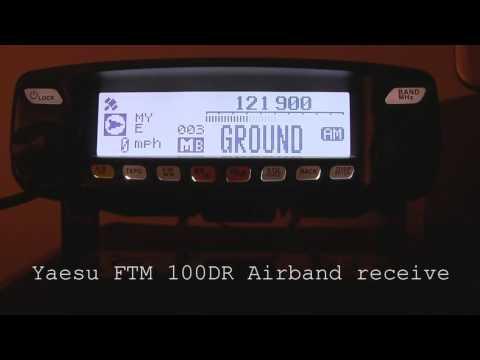 Yaesu FTM 100DR AIR BAND Receive