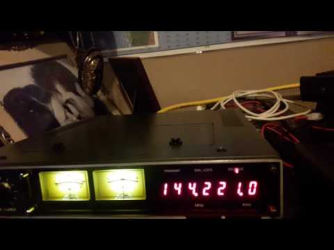 Icom ic-211 frequency drift tested with w4dve