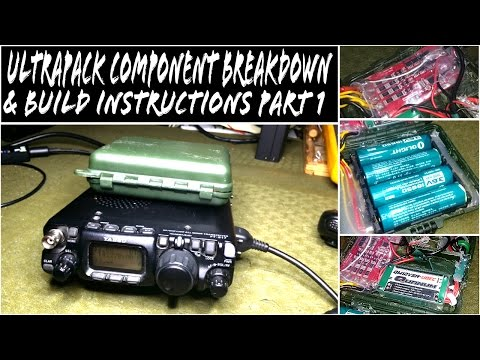DIY Yaesu FT-817ND 48wh Battery Pack - UltraPack Components, Test & Build Part 1