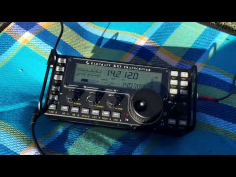Receiving Long Path (LP) Asian DX on the Elecraft KX3