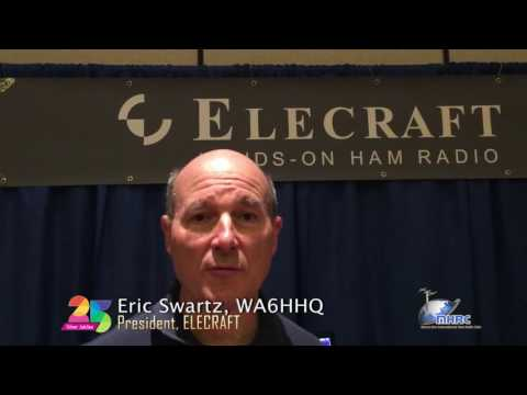 Good Wishes - Eric Swartz, President, Elecraft - HAMFEST INDIA 2016 - Mount Abu