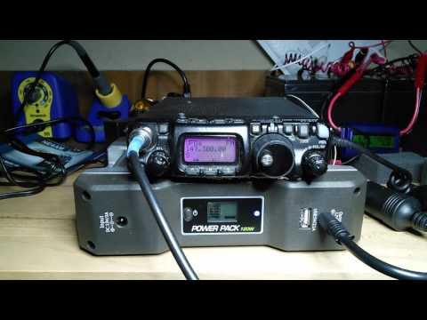 Third test of Bioenno power pack powering the ft-817