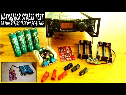 DIY Yaesu FT-817ND 48wh Battery Pack - UltraPack WSPR STRESS TEST