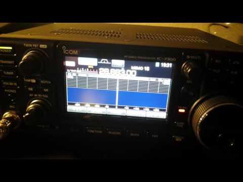 Transmitting SSTV images via Ham Radio Deluxe & ICOM IC-7300
