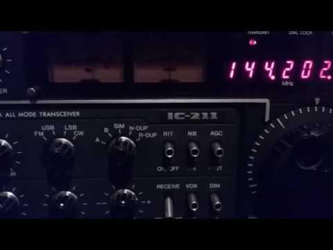 Icom IC-211 drifting and making weird noises