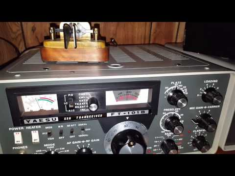 Yaesu ft101b Washington state to Tokyo japan on 40 meters