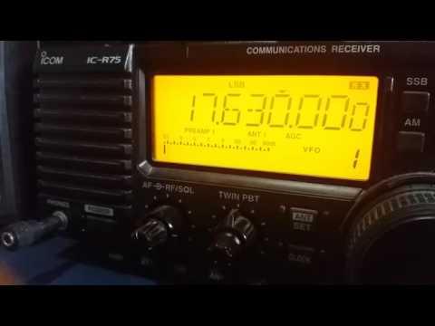 China Radio International, via Bamako MALI - 17630 kHz