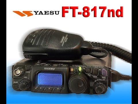 Yaesu FT817ND Basic Setup