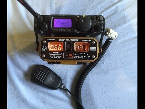 Hardened Power QRP Ranger and Yaesu Ft 817 and Small Antenna - Contest 06.08.2016