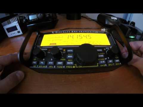 Elecraft KX2 - How to adjust time using the option IO board | www.VA2SS.com