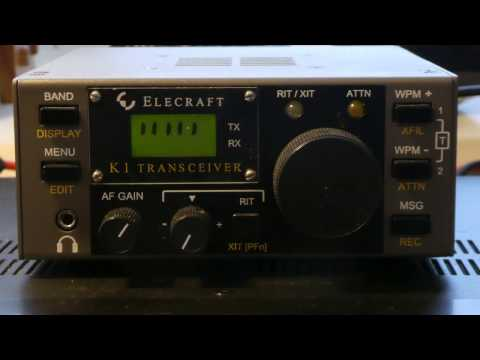 Elecraft K1 HF Four Band CW QRP Transceiver