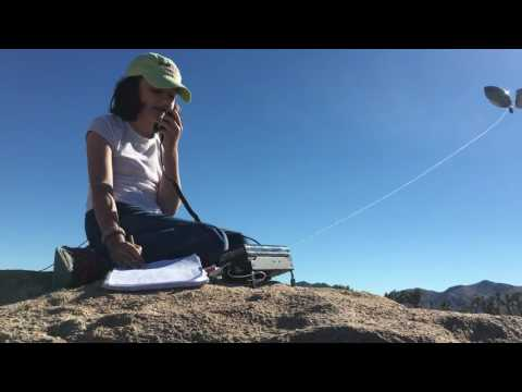 KM4IPF Working Stations with an Elecraft KX3 in Joshua Tree National Park