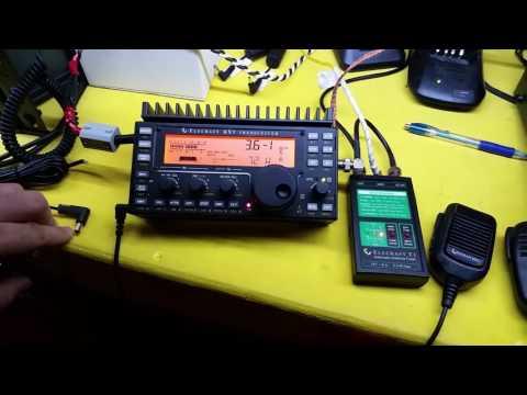 Elecraft KX3 QRP Radio and T1 External QRP Auto Tuner