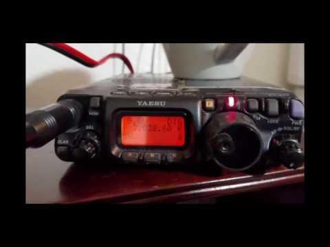FT 817 5W at 9 9vdc