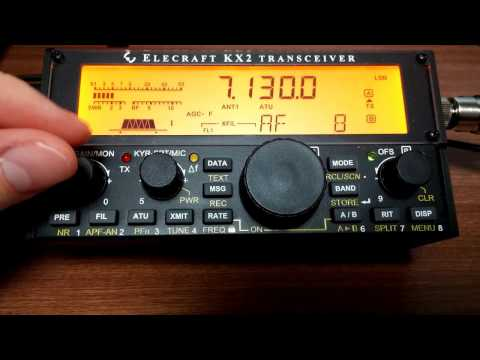 Elecraft KX2 : Receive Tips and Tweaks