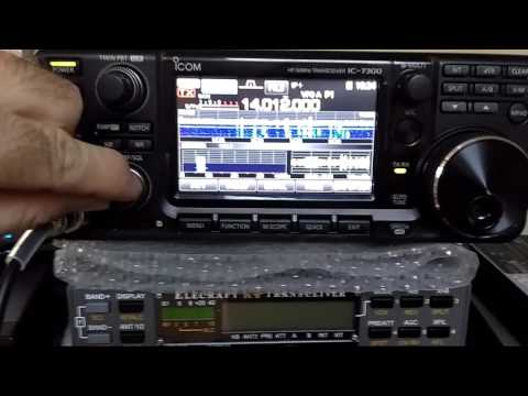 Elecraft KX3 Vs Icom 7300 CW 20 meters - IW2NOY