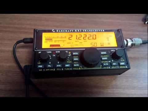 Elecraft KX2 5w QRP SSB Korea to Australia contact