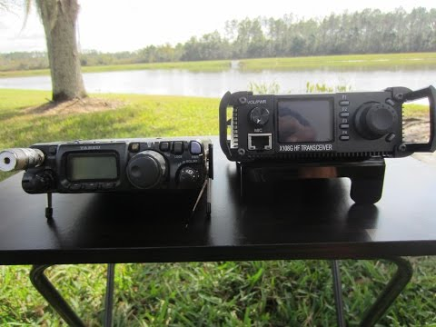 K9ARV RADIO: XIEUGU X-108G vs Yaesu FT-817ND