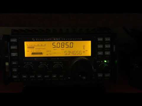 Elecraft KX3 on Shortwave