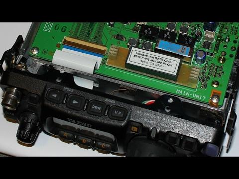 K9ARV RADIO: INRAD 2900 Hz FILTER IN YAESU 817ND INSTALL