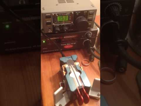 Elecraft K1 Transceiver, 5 watts output, morse only.