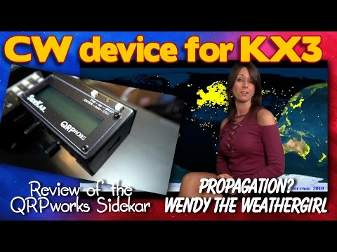 Review of The Sidekar, CW device for the KX3 - K6UDA Radio Episode 40