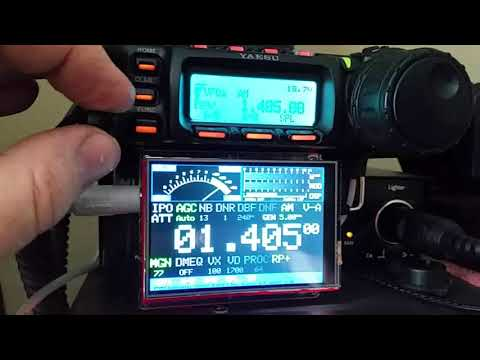 CatDisplay for Yaesu FT-857 or FT-897 Transceivers