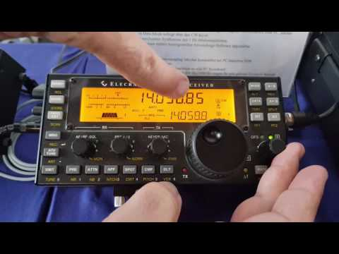 David KG6IRW presents Elecraft PX3 + Elecraft KX3 at Hamradio 2017 Friedrichsshafen