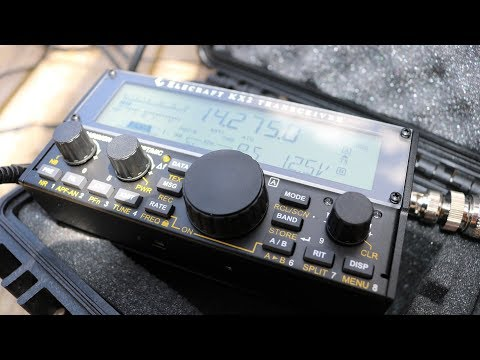 ELECRAFT KX2 AND THE PVC SPIKE