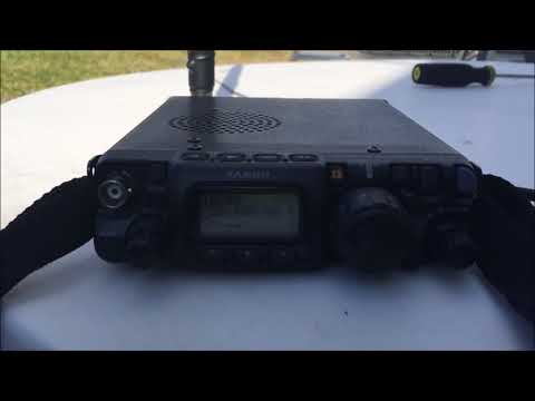 Ham radio HF Go-Kit QRP contacts FT-817 portable communications