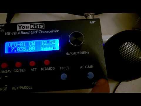#1 Yaesu FT-897 vs Yaesu FT-817ND vs YouKits HB-1B (CW)