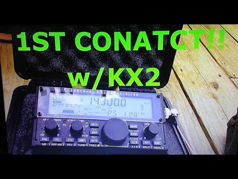 ELECRAFT KX2- 1ST CONTACT/DRONE FAIL