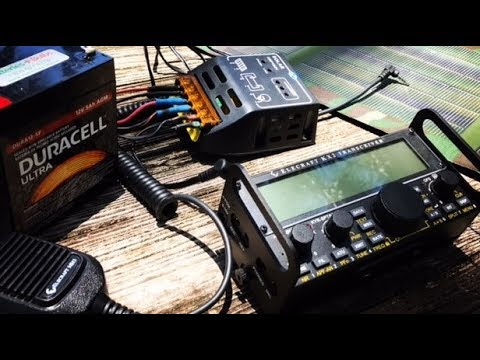 QRP RADIO: MY ECS SOLAR SETUP!