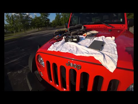 JEEP Wrangler? QRP Ham Radio Adventure | Elecraft KX2 & Packtenna