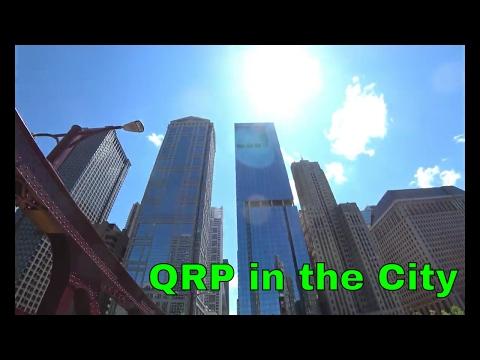 QRP Packtenna & Elecraft KX2 | Long Wire in BIG CITY CHICAGO