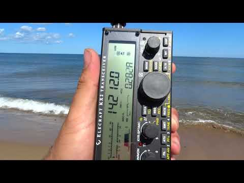 RX with VK on the Elecraft KX2 & MFJ 1820T